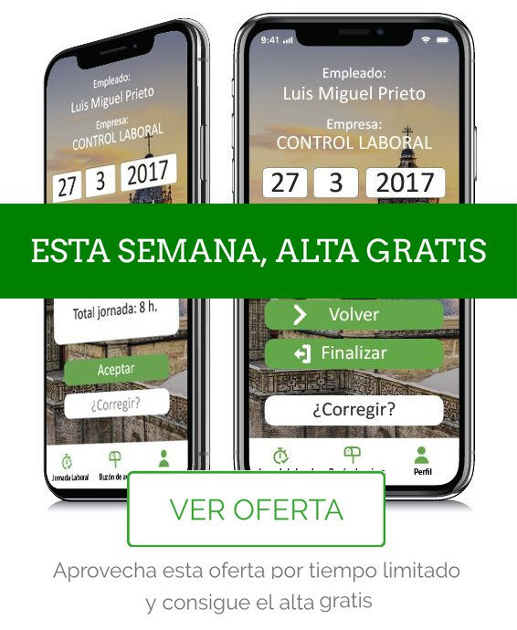 Oferta app registro laboral