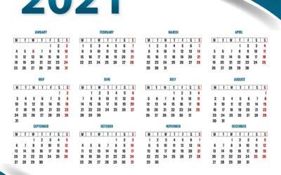 Calendario laboral de España en 2021
