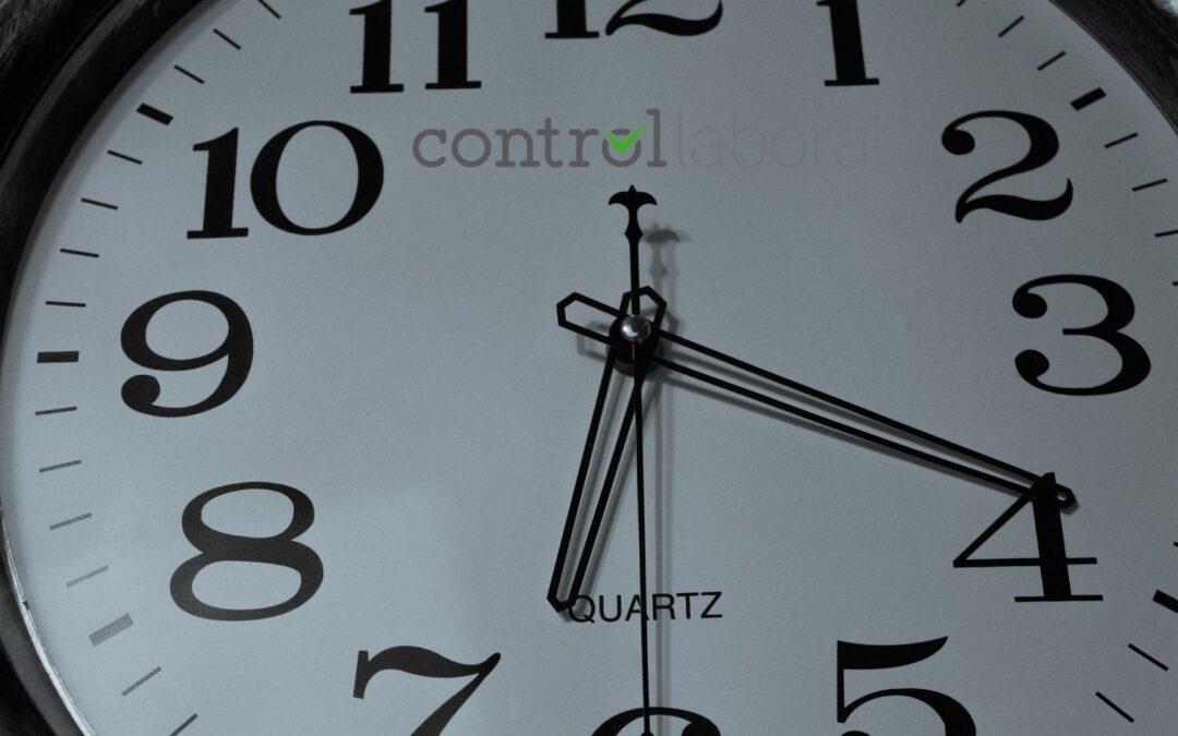 ¿Cuándo debe hacerse el registro horario?