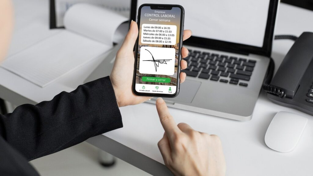 App Control Laboral en teletrabajo